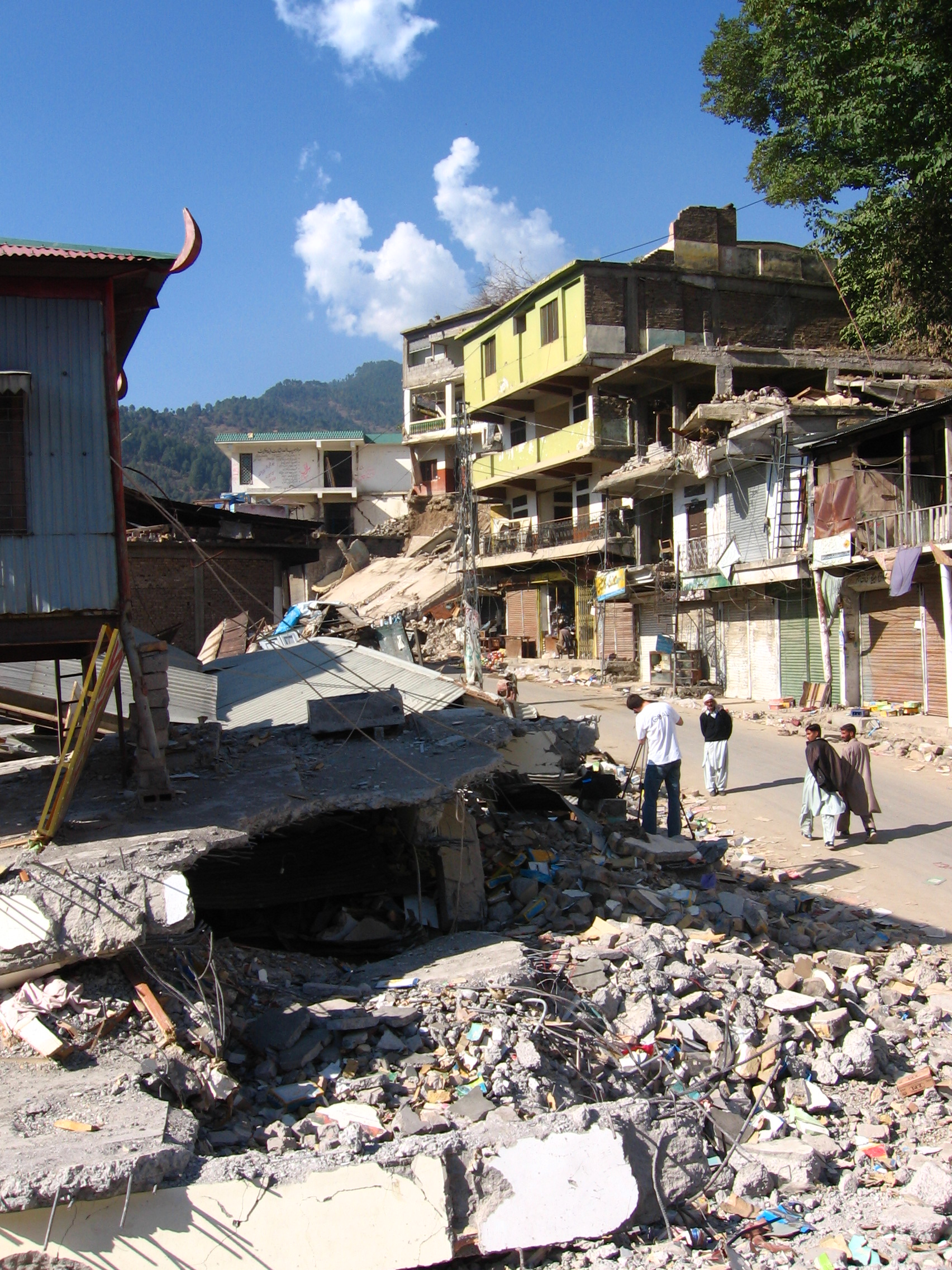 Kashmiri city of Bagh was badly-affected by the earthquake (Photo: Simon Roughneen)