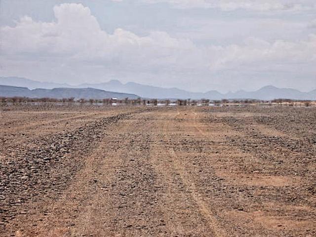 Mirage in Turkana, northern Kenya (Photo: Simon Roughneen)