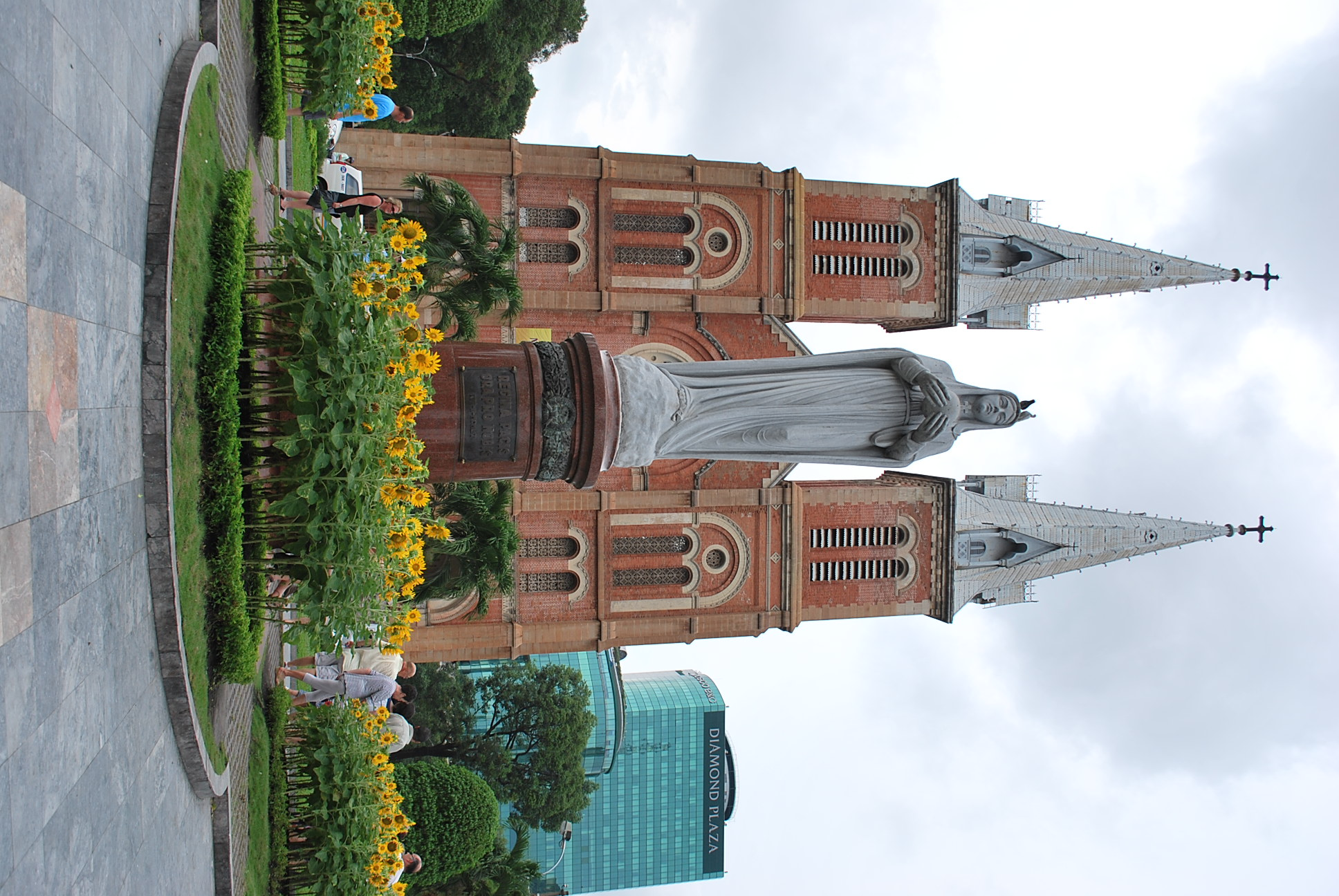 Notre Dame Cathedral in Ho Chi Minh City, May 2011 (Photo: Simon Roughneen)