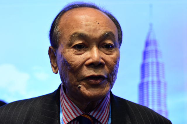 Abdul Aziz Ibrahim, chairman of the advisory board of the Malaysian Anti Corruption Commission (Photo: Simon Roughneen)
