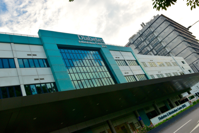 The Diabetes and Metabolism Center at Singapore General Hospital (Photo: Simon Roughneen)
