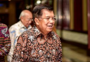 Indonesian Vice-President Jusuf Kalla attends the same forum where business groups sought an extension to the tax amnesty (Photo: Simon Roughneen)