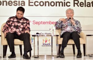 Indonesian Trade Minister Enggartiasto Lukita Speaking to U.S. investors in Jakarta in Sept. 2016 (Photo: Simon Roughneen)