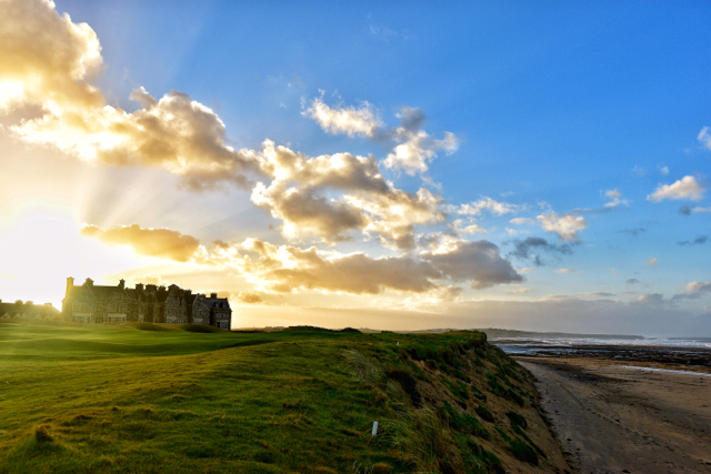 The Trump golf resort at Doonbeg, Co. Clare, Ireland (Photo: Simon Roughneen)