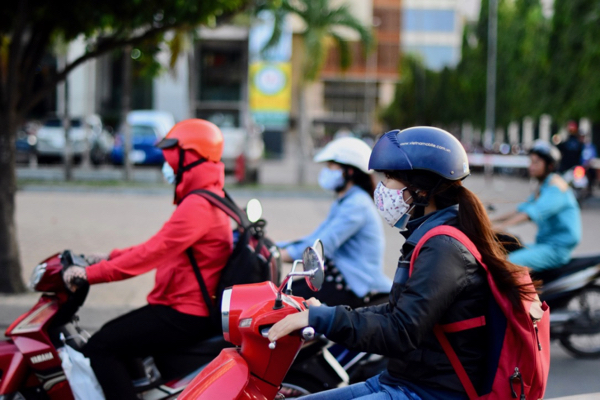 Motorcycles remain a popular form of transport in many cities in Southeast Asia, such as here in Ho Chi Minh City (Photo: Simon Roughneen)