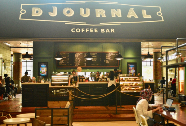 A popular coffee shop inside a Grand Indonesia, a central Jakarta mall (Photo: Simon Roughneen)