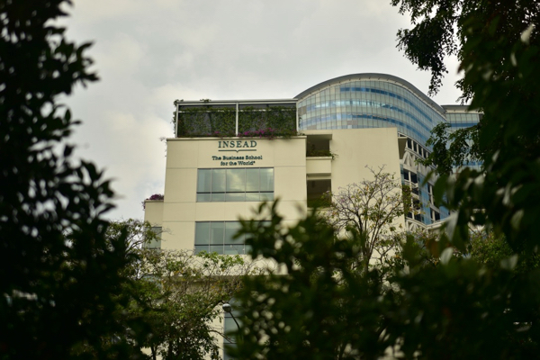 INSEAD's Asia campus in Singapore. INSEAD was the highest-ranked business school in the FT's latest global listings (Simon Roughneen)