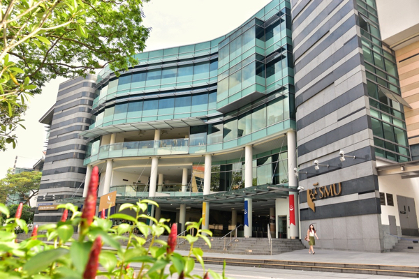 The Lee Kong Chian School of Business, part of Singapore Management University, which is located in the heart of Singapore and close to the city-state's main business and financial centers (Simon Roughneen)