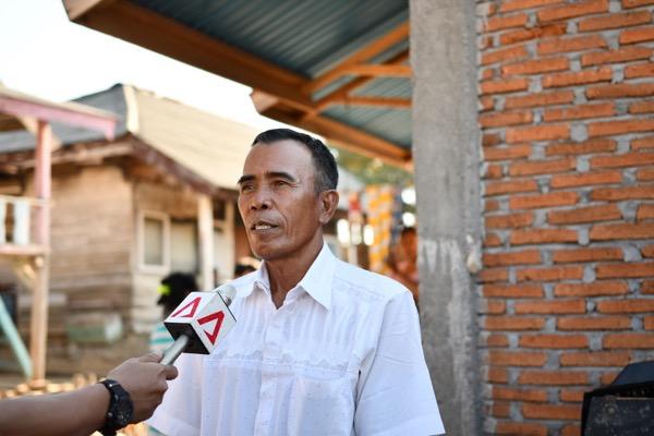 Saiful Baharudin, former Kwangko village leader (Simon Roughneen)