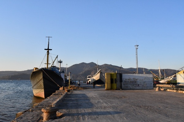 The port at Bima, the biggest town on Sumbawa island (Simon Roughneen)