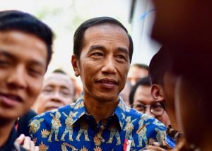 Indonesian President Joko Widodo in Nusa Dua on the Indonesian island of Bali in October 2018. Photo: Simon Roughneen