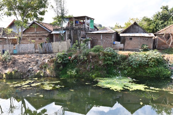 View across the river from Robitan and Kiki Mariam's former home in Bima. Simon Roughneen