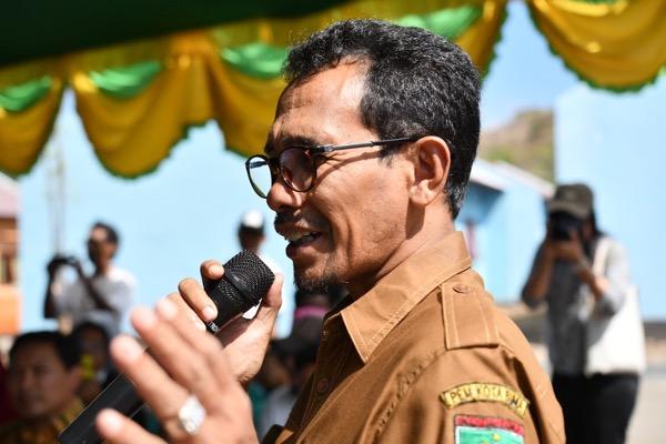 Bima's mayor Mohamad Lufti. Photo: Simon Roughneen