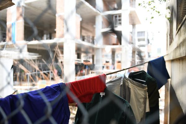 clothes CPP HQ Phnom Penh building