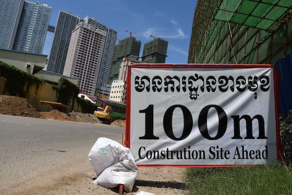 Phnom Penh constrution