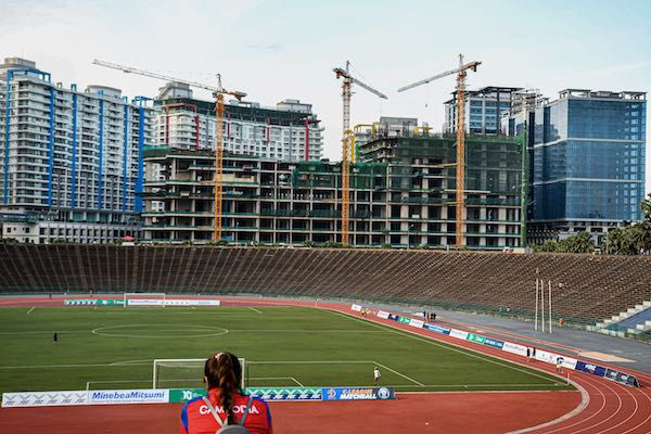 Phnom Penh's Olympic Stadium