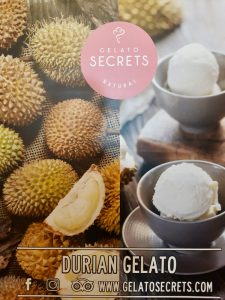 Durian-flavoured ice-cream is becoming more popular in parts of Asia (Simon Roughneen)