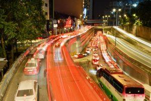 Evening traffic in Kuala Lumpur before the pandemic (Simon Roughneen)