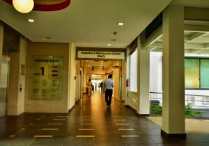 Inside Singapore General Hospital (Simon Roughneen)