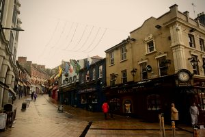 Some well-known pubs in the centre of Derry (Simon Roughneen)
