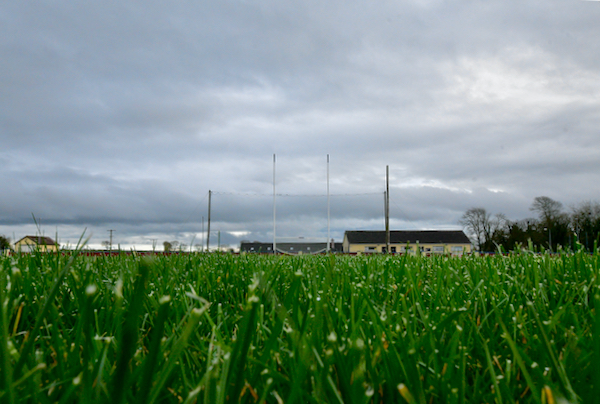 Most sports in ireland have been banned as part the current lockdown, leaving pitches such as this in the west of Ireland empty and unused (Simon Roughneen)