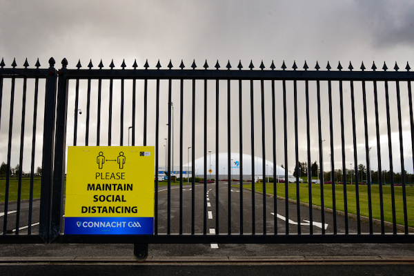 Sports facilities such as this Gaelic Athletic Association (GAA) Centre of Excellence in Co. Mayo in the west of Ireland have been closed for most of the past year due to government restrictions (Simon Roughneen)