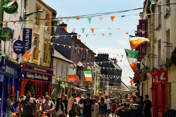Galway in the west of Ireland is a popular with visitors to the island (Simon Roughneen)