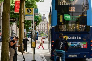 In Dublin, the capital of Ireland, where the government has been slow to lift coronavirus restrictions compared to neighbours (Simon Roughneen)