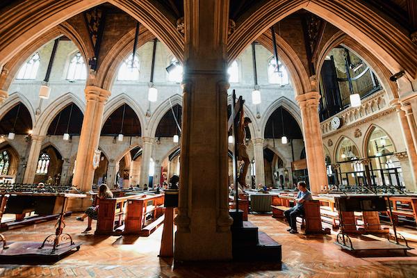 St. Saviour's Catholic church in Dublin in mid-July 2021 (Simon Roughneen)