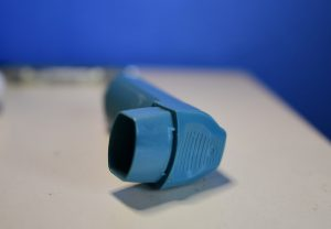 Asthma inhaler (Simon Roughneen)